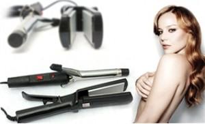 Máy làm xoăn hoặc Máy duỗi tóc - Cho bạn mái tóc đẹp như ý