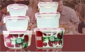 Combo 03 hộp đựng thực phẩm có 04 nắp - Bảo quản thực phẩm