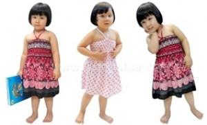 Combo 02 đầm Maxi 3 trong 1 cho bé gái - Điệu đà cho bé yêu