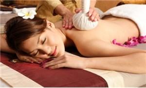 Massage body bằng túi nén thảo dược+xông hơi+massage mặt+đắp mặt nạ