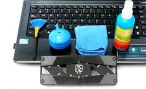 Combo quạt tản nhiệt và bộ vệ sinh laptop