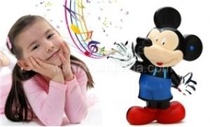 Chuột Mickey phát nhạc qua bàn tay-trò chơi gắn kết yêu thương