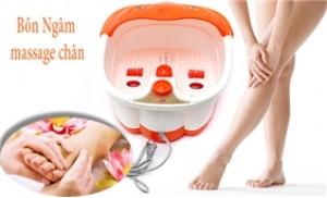 Bồn massage chân chân SQ 368 xua tan căng thẳng và mệt mỏi