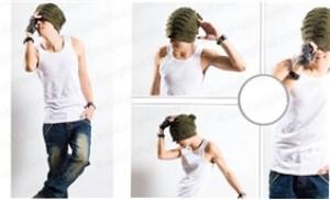 Combo 02 áo ba lỗ sát nách thời trang Haprosimex