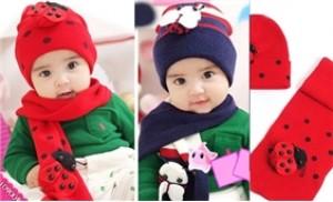 Mũ len tai con bọ cực ngộ nghĩnh cho bé yêu của bạn - 3 - Thời Trang và Phụ Kiện