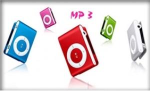 Sành điệu và thời trang với Máy nghe nhạc MP3 kiểu dáng nhỏ gọn
