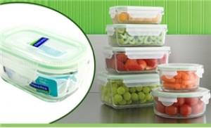 Hộp bảo quản đồ ăn dung tích 150ml, thương hiệu Glasslock, Hàn Quốc
