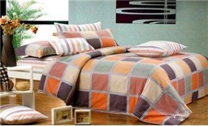 Bộ drap Giường Thượng Hải:01 ga trải giường + 02 vỏ gối + 01 vỏ chăn
