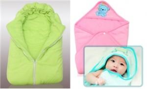 Ủ ấm bé yêu với chăn ủ cho bé, chất liệu coton bông cao cấp, ấm áp - 1 - Gia Dụng - Gia Dụng