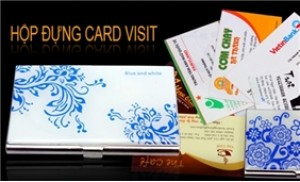 Hộp đựng name card sang trọng, chất liệu bền đẹp