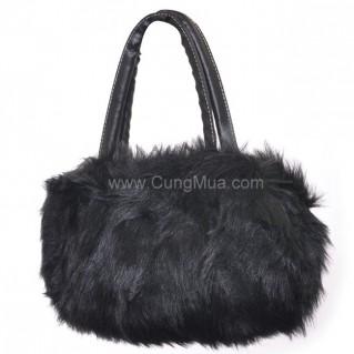 Túi xách lông thú thời trang