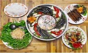 Set ăn lẩu cá kèo cho 03 - 04 người tại Vũ Thạch Quán