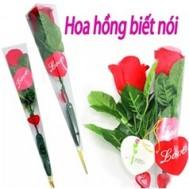 Bông hồng ghi âm - Quà tặng tình yêu