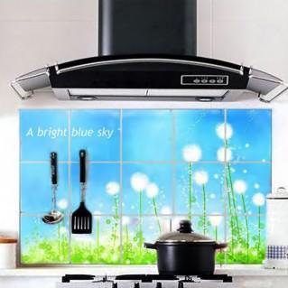 Giấy dán bếp chịu nhiệt cỡ lớn 60 x 90cm (02 miếng)