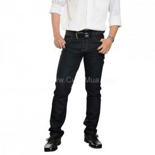 Quần jeans nam màu xanh đen