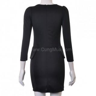 Đầm thun Hồng Kông cho nữ