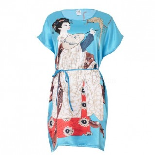 Đầm ngủ kimono cho nữ