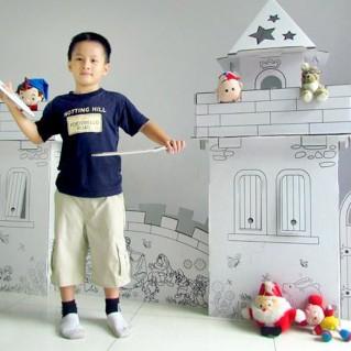 Lâu đài cổ tích cho bé - Quà tặng ý nghĩa ngày Quốc tế thiếu nhi