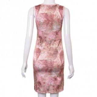 Đầm thun giả da rắn thời trang