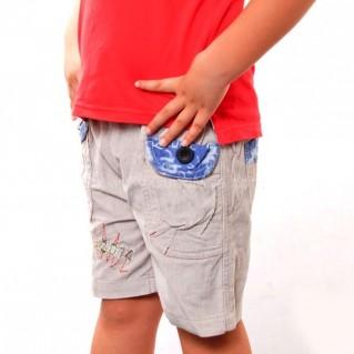 Combo 2 quần short nhung bé trai - Hàng xuất khẩu