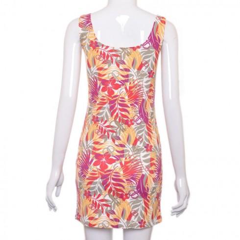 Đầm Tankdress hoa đa sắc nữ tính sành điệu