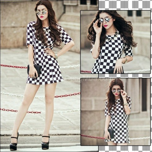 Đầm Caro Style