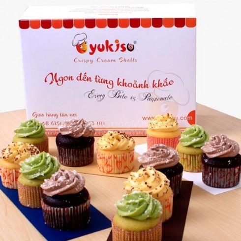 Bánh Kissy Cupcake - Yukisu (12 cái)