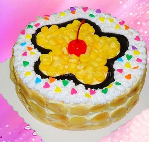 Bánh kem bắp Farino đặc biệt ( 8cm x 20cm)