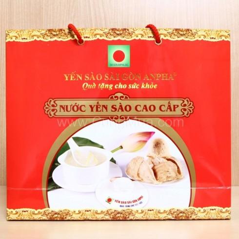 Yến sào nhân sâm cao cấp - Sài Gòn Anpha (06 hũ * 70ml/ hũ)