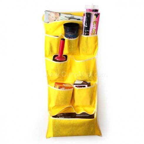 Túi vải treo tường 9 ngăn tiện dụng