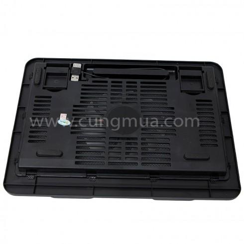 Đế tản nhiệt laptop Q19 màu đen
