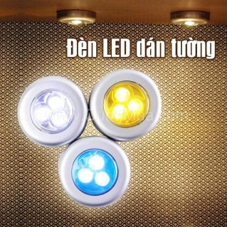 Combo 2 đèn led dán tường tiện lợi