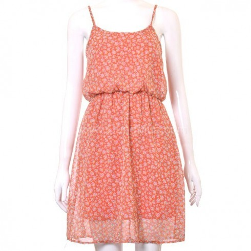 Đầm voan 2 dây thời trang cho nữ