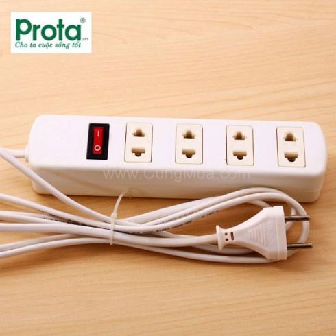 Ổ cắm điện 4 lỗ Prota