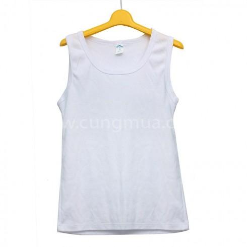 Áo sát nách vải cotton thoáng mát cho bé (03 áo)