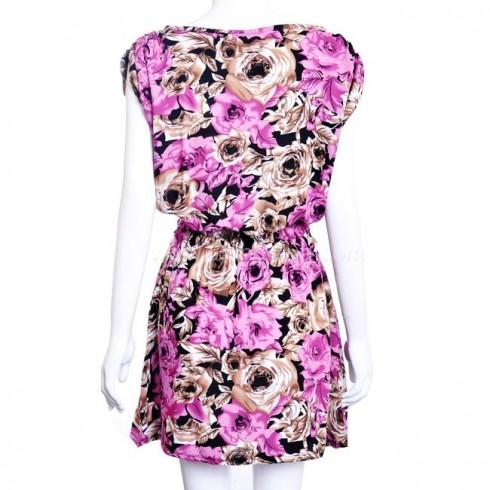 Đầm hoa cánh dơi mùa hè