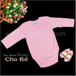 Bộ body dài tay cotton cho bé (05 bộ)