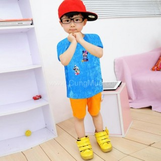 Combo 04 áo thun cho bé (6 - 24 tháng tuổi)