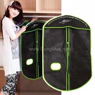 Túi chống bụi quần áo tiện dụng (2 cái)