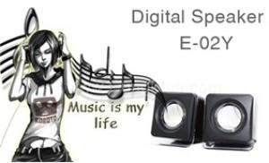Bộ Loa mini Digital Speaker cho âm thanh trung thực, sống động