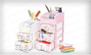 Tủ nhựa mini 03 ngăn nhỏ xinh, cho bạn sắp xếp đồ dùng gọn gàng