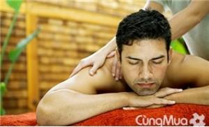 Massage toàn thân kết hợp với Xông hơi cho nam ESALEN MASSAGE