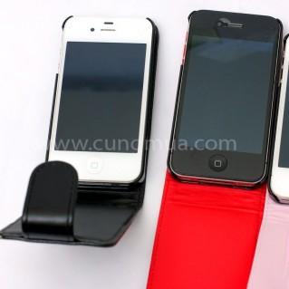 Bao da IPhone 4, 4s cao cấp, sành điệu