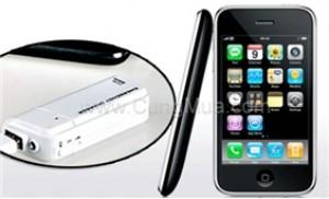 Sạc pin di động iPhone, iPod, HTC, Mp3 không cần sử dụng nguồn điện