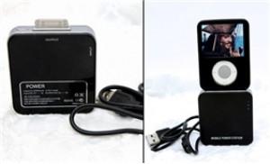 Sạc pin di động iPhone, iPod - Thoải mái sử dụng không lo hết pin