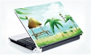DV trang trí Skin laptop + miếng từ bảo vệ màn hình