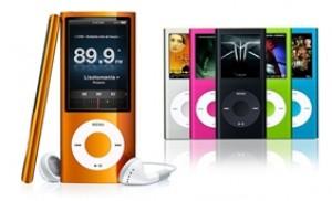 Máy nghe nhạc MP4 màn hình hiển thị nhỏ gọn, tiện lợi và thời trang