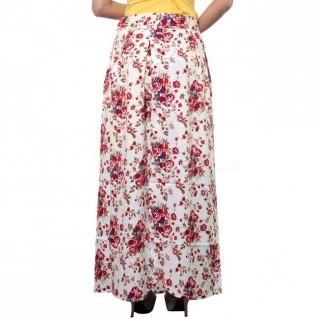 Váy chống nắng họa tiết