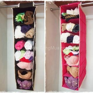 Túi vải treo tường 7 ngăn tiện dụng