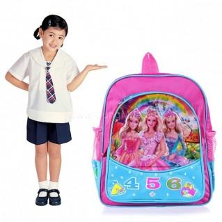 Ba lô cho bé đến trường với họa tiết hoạt hình 3D (Lớp 1 - 3)